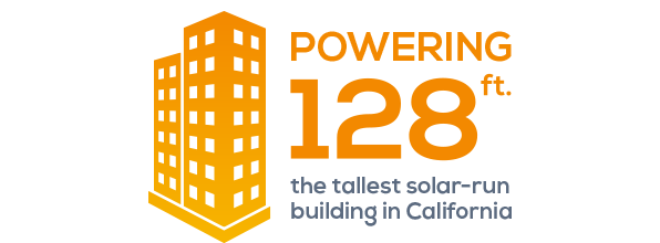 Tallest solar powered building