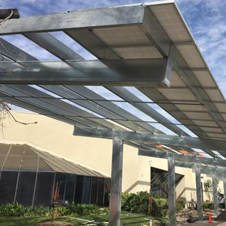 Meritronics Carport Solart Energy